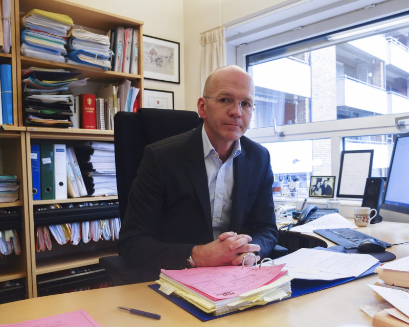 Advokat Christian Lundin representerer gutten som ble alvorlig skadet i trafikkulykken 2. juni 2012. Ulykken medførte omfattende personskade.