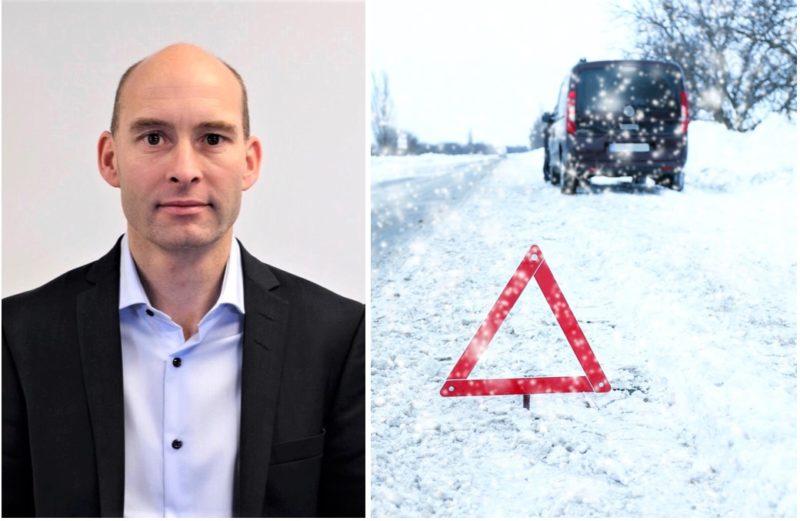 Anders Hauge i Advokatfirmaet Ness Lundin forteller deg hva du har krav på etter trafikkskade.