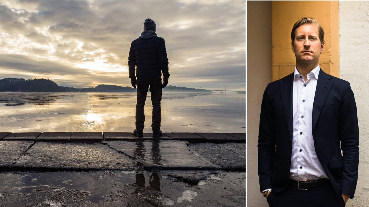 Illustrasjonsbilde sjøfolk, og foto Ole Breder Wahl i Ness Lundin, sak om forsikring etter tap av helseattest